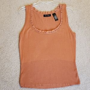 Large Orange Axcess by Liz Claiborne knit shirt